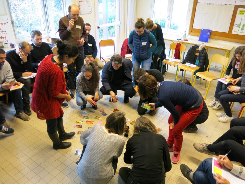 Cours de Conception en Permaculture Urbaine et Péri-Urbaine 2017